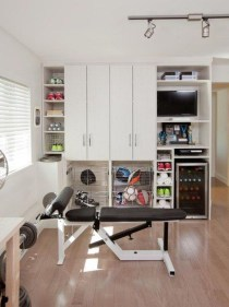 Cheap Home Gym Decorating Ideas For Small Space 37