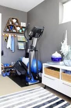 Cheap Home Gym Decorating Ideas For Small Space 45