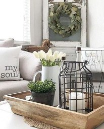 Lovely Farmhouse Living Room Decor Ideas 14