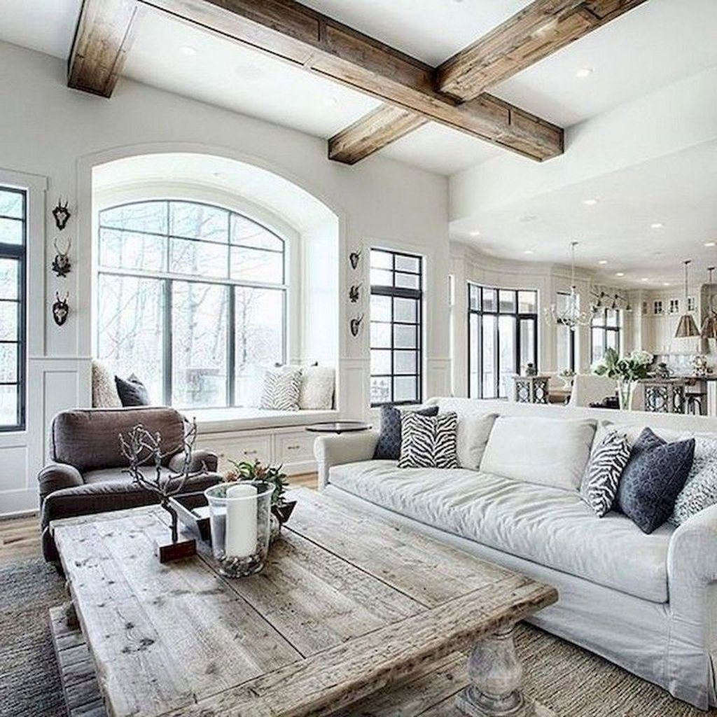 Lovely Farmhouse Living Room Decor Ideas 30
