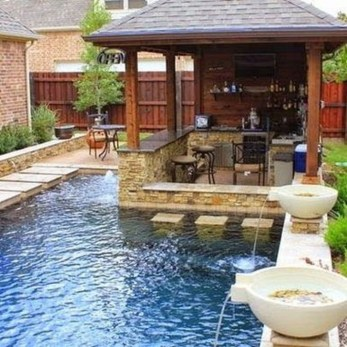 Nice Pool House Decorating Ideas On A Budget 13