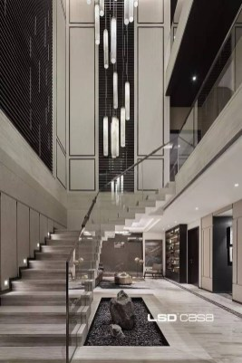 Perfect Living Room Staircase Design Ideas 15