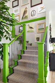 Perfect Living Room Staircase Design Ideas 24