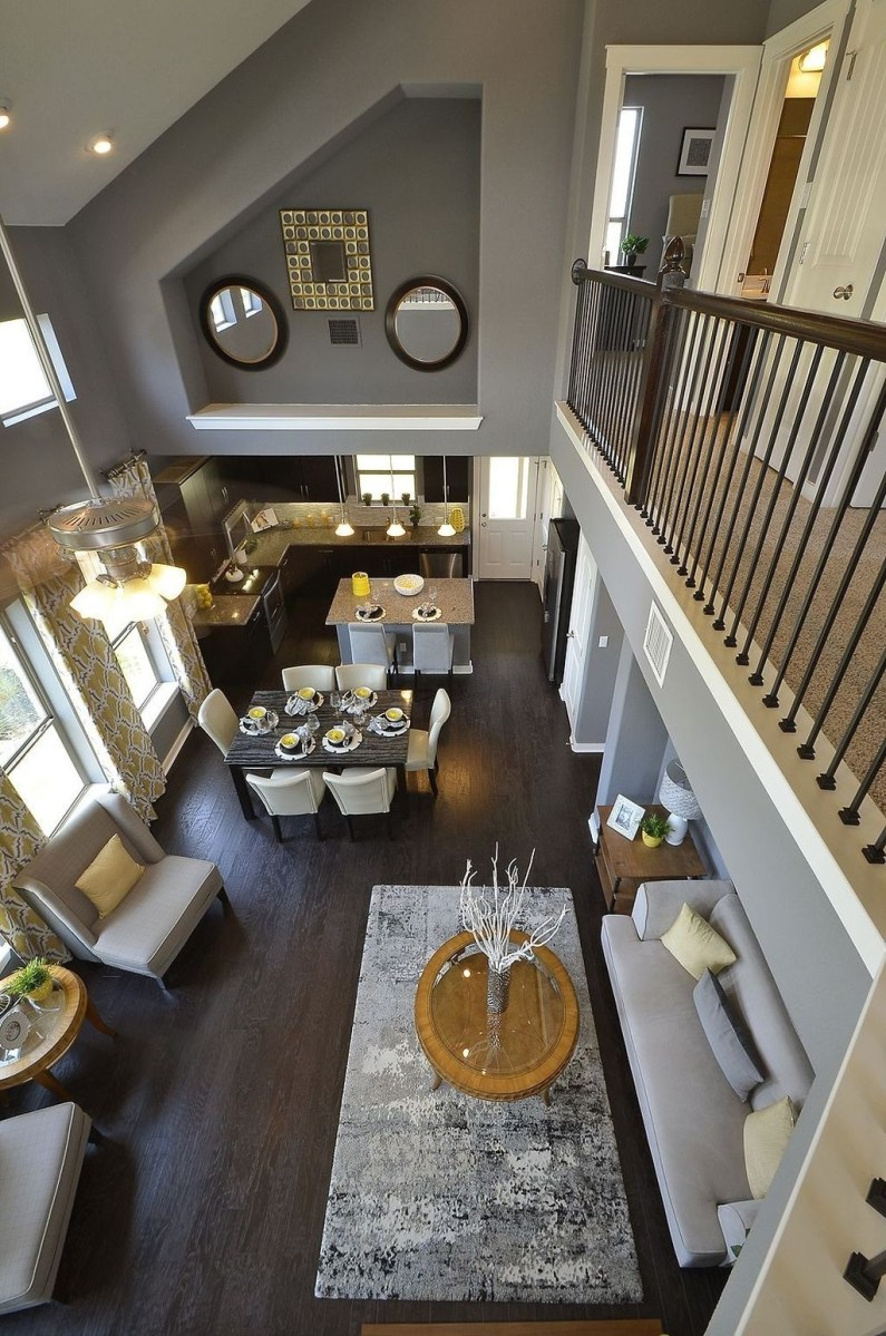 Perfect Living Room Staircase Design Ideas 34