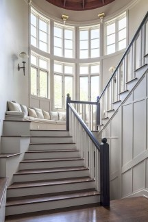 Perfect Living Room Staircase Design Ideas 49