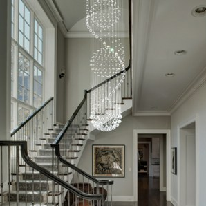 Perfect Living Room Staircase Design Ideas 51