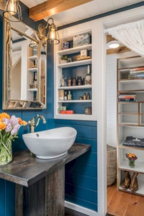 Perfect Tiny House Bathroom Design Ideas 50