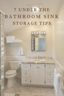 Stunning Bathroom Storage Shelves Organization Ideas 34