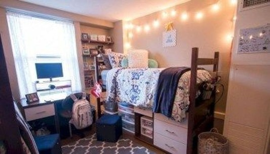 Unique Dorm Room Storage Organization Ideas On A Budget 20