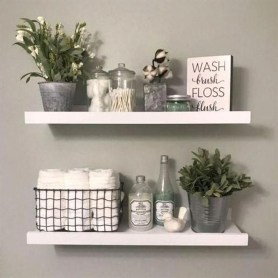 Wonderful Farmhouse Bathroom Decor Ideas 12