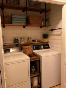 Wonderful Laundry Room Storage Organization Ideas On A Budget 11
