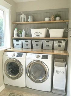 Wonderful Laundry Room Storage Organization Ideas On A Budget 37