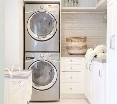 Wonderful Laundry Room Storage Organization Ideas On A Budget 45