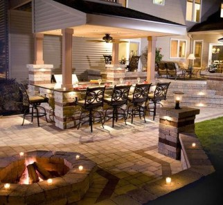 Wonderful Outdoor Fireplace Design Ideas 11