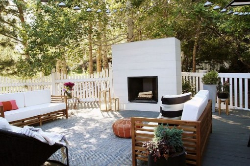 Wonderful Outdoor Fireplace Design Ideas 44
