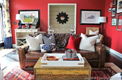 Charming Living Room Designs Ideas With Combinations Of Brown Color 35