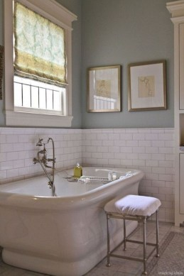 Elegant Farmhouse Bathroom Wall Color Ideas 35
