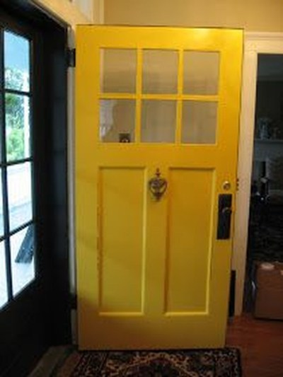 Flawless Exterior House Paint Ideas With Yellow Colors 38