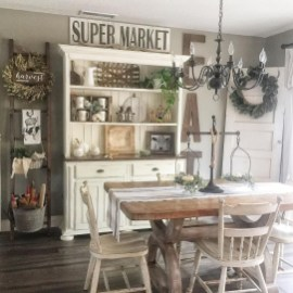 Inspiring Farmhouse Dining Room Design Ideas 37