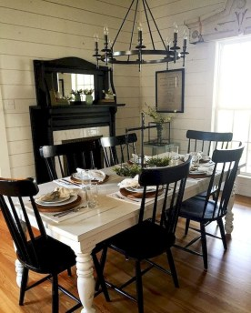 Inspiring Farmhouse Dining Room Design Ideas 42