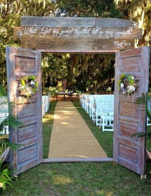 Newest Backyard Wedding Decor Ideas 43
