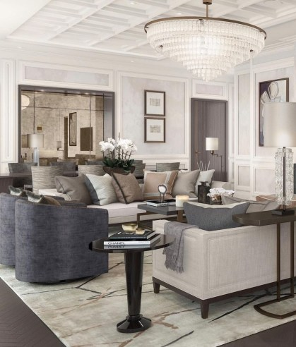 Relaxing Large Living Room Decorating Ideas 08