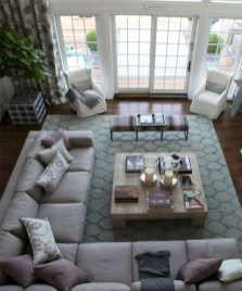Relaxing Large Living Room Decorating Ideas 12