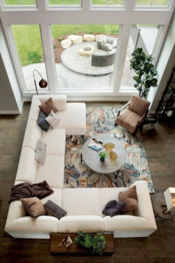 Relaxing Large Living Room Decorating Ideas 18
