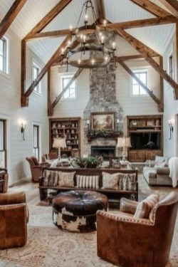 Relaxing Large Living Room Decorating Ideas 20