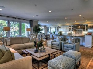 Relaxing Large Living Room Decorating Ideas 24