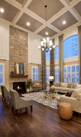 Relaxing Large Living Room Decorating Ideas 26