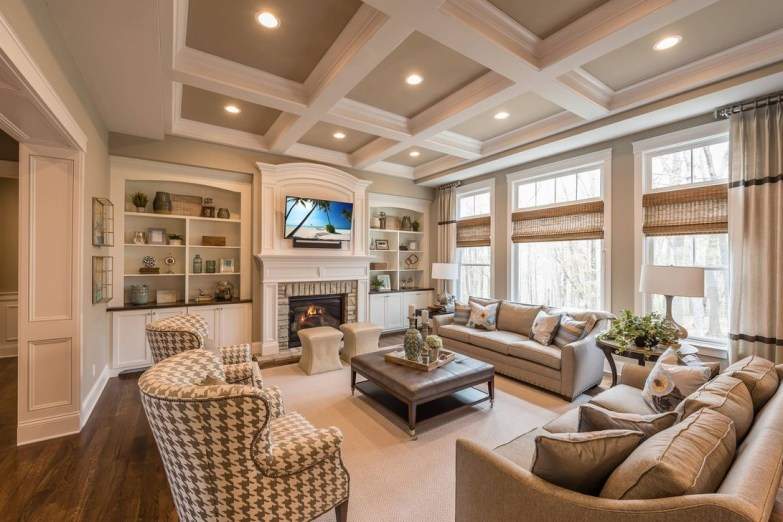Relaxing Large Living Room Decorating Ideas 29