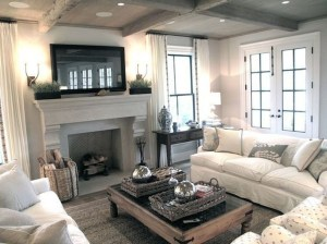 Relaxing Large Living Room Decorating Ideas 34