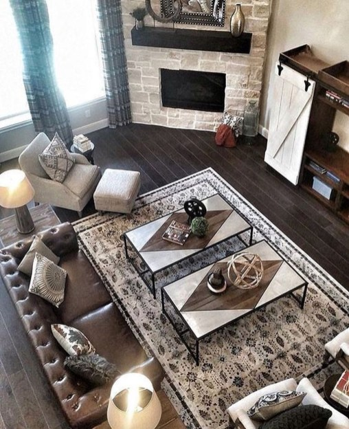 Relaxing Large Living Room Decorating Ideas 36