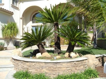 Stunning Front Yard Courtyard Landscaping Ideas 48