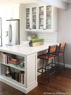 Stunning Small Kitchen Design Ideas For Home 43