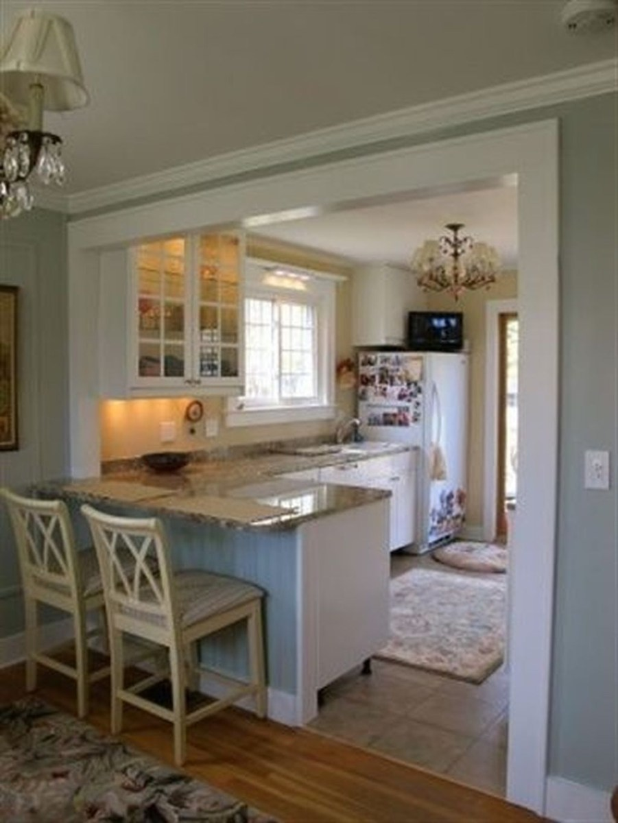 Stunning Small Kitchen Design Ideas For Home 49