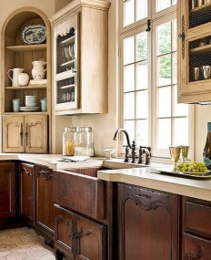 Stylish French Country Kitchen Decor Ideas 04