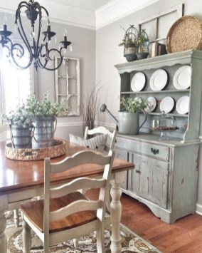 Stylish French Country Kitchen Decor Ideas 17
