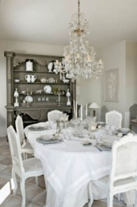 Stylish French Country Kitchen Decor Ideas 37