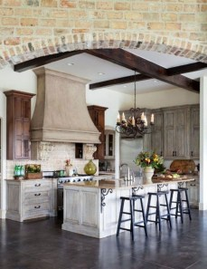 Stylish French Country Kitchen Decor Ideas 38