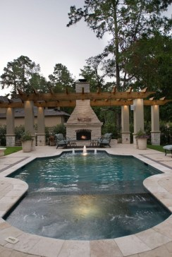 Amazing Natural Small Pools Design Ideas For Backyard 12