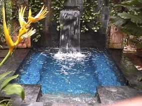 Amazing Natural Small Pools Design Ideas For Backyard 26