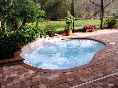 Amazing Natural Small Pools Design Ideas For Backyard 29