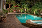 Amazing Natural Small Pools Design Ideas For Backyard 35