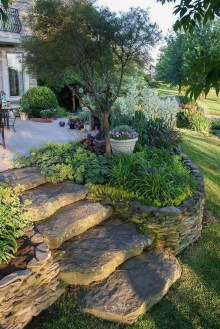 Brilliant Rock Garden Landscaping Ideas For Front Yard 34