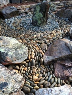Brilliant Rock Garden Landscaping Ideas For Front Yard 45
