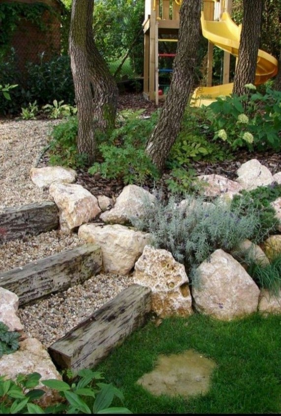 Brilliant Rock Garden Landscaping Ideas For Front Yard 60
