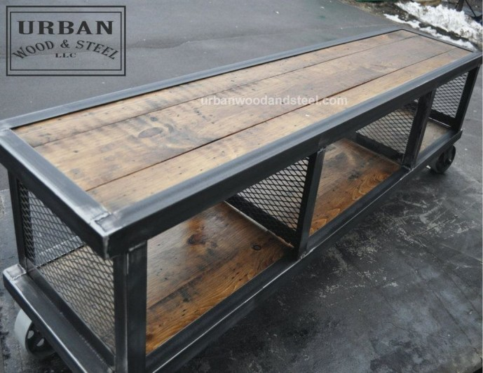 Cool Industrial Table Design Ideas 13