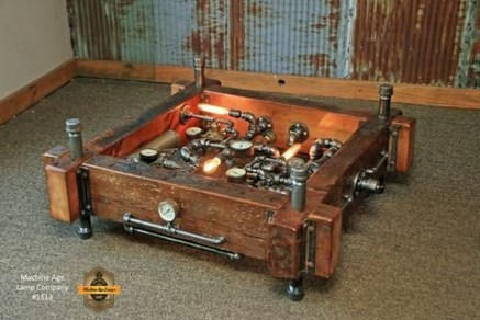 Cool Industrial Table Design Ideas 15